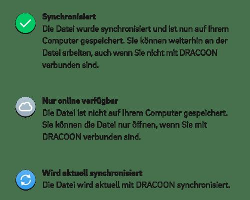 DRACOON-Daten-synchronisieren